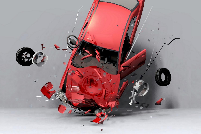Как на фото целую машину сделать разбитой металлические
